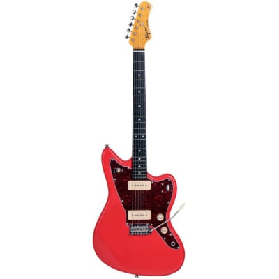 Tagima TW-61 Fiesta Red Electric Guitar for sale