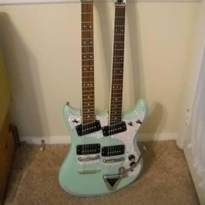 Gorgeous Joe Maphis Doubleneck guitar with original  body & necks