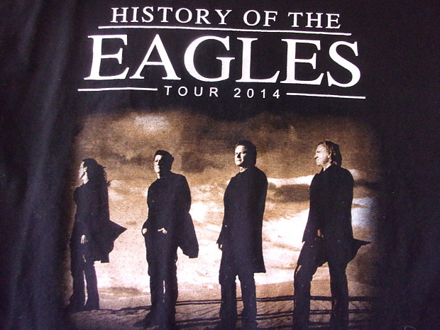 7458dbdaf The Eagles History of the Eagles 2014 Tour size Large Concert