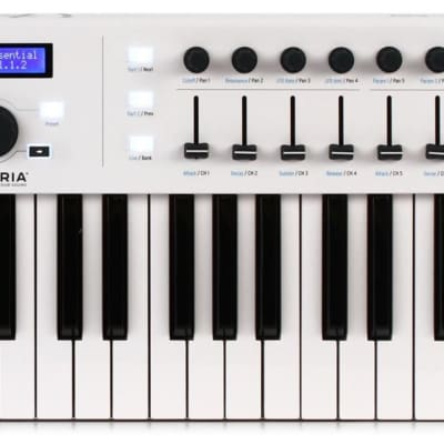Arturia KeyLab Essential 49 49-key Keyboard Controller Bundle with Mogami Gold Studio Microphone Cable - 25 foot