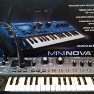 Novation MiniNova w/ Power Cable, Microphone, and Box
