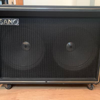 Sano 250R 30 watt tube amp. Early 70s. Amazing tremolo and reverb. With Tuki cover. for sale