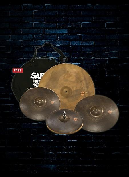 sabian xsr5005m xsr monarch set 15 17 19 22 cymbal pack reverb. Black Bedroom Furniture Sets. Home Design Ideas
