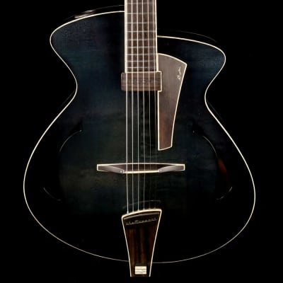 Pagelli Massari Super Deluxe Archtop Black for sale