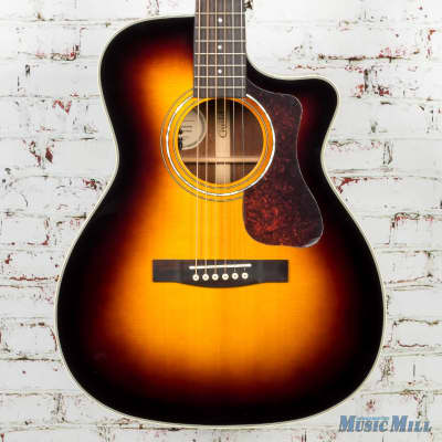 Guild OM-140CE Orchestra Acoustic Electric Sunburst 3842405837B for sale