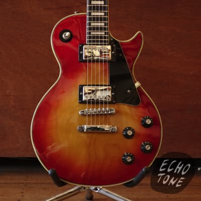 c1972 Fresher Les Paul (Cherry Sunburst, Made In Japan) for sale