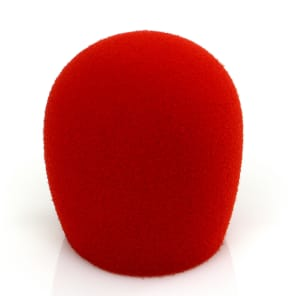Shure A58WS-RED Windscreen for Ball-Type Mics
