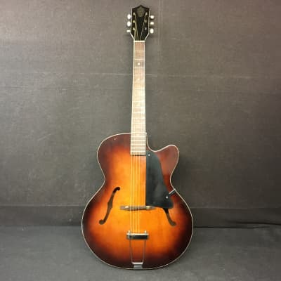 Vintage Orpheum Double Bound Archtop Guitar Made in USA for sale