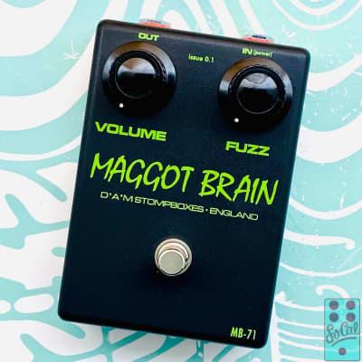 D*A*M MB-71 Maggot Brain Polyester Black/Acid Green w/Original Box!