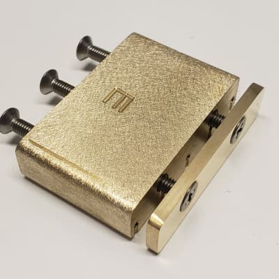 KGC Brass Tremolo Block for Ibanez Edge and Lo-Pro 42mm -Best Design, most Mass Direct Fit  USA Made
