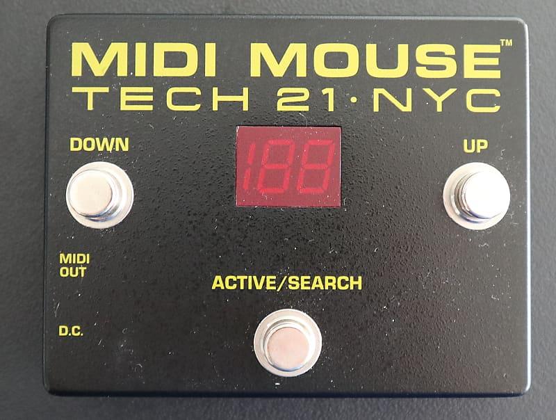 Tech 21 MIDI Mouse 2016 Black | Music Down Under | Reverb