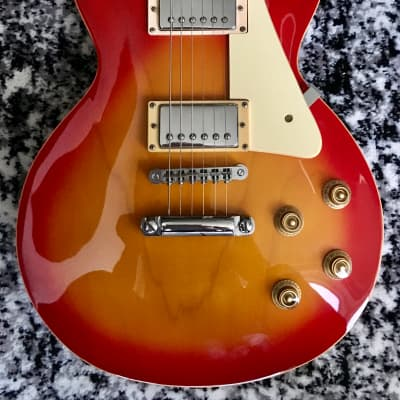 Legend by Aria Cherry Sunburst LP Replic 90s for sale