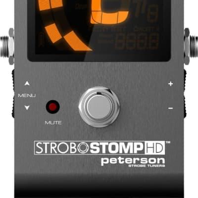 Peterson SS-HD StroboStomp HD Strobe Tuner Pedal