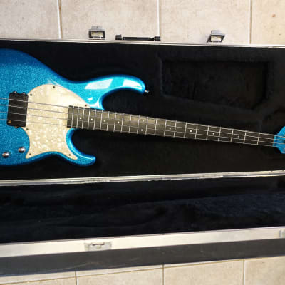 Modulus Flea FB4 1997 Blue flake Funk Unlimited predecessor for sale