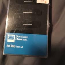 Seymour Duncan  Hot rails  Black