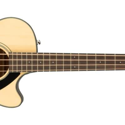 Fender CB-60SCE Bass Guitar - Laurel, Natural for sale