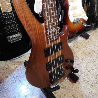 Jim Reed Bass guitar 5 chords - 27 frets - Active and passive circuit for sale