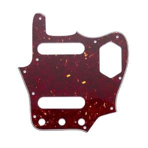 Allparts Pickguard for Jaguar 3-Ply Red Tortoise for sale