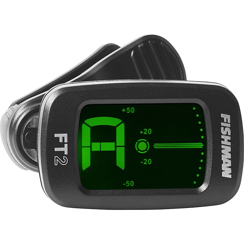 FIshman FT-2 Flip On Clip-On Digital Chromatic Headstock Tuner