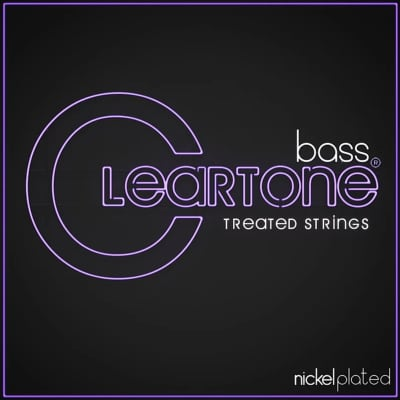 Cleartone Strings 6440 Nickel Plated Bass Strings