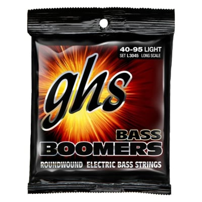GHS Bass Boomers Light Bass Strings (40-95)