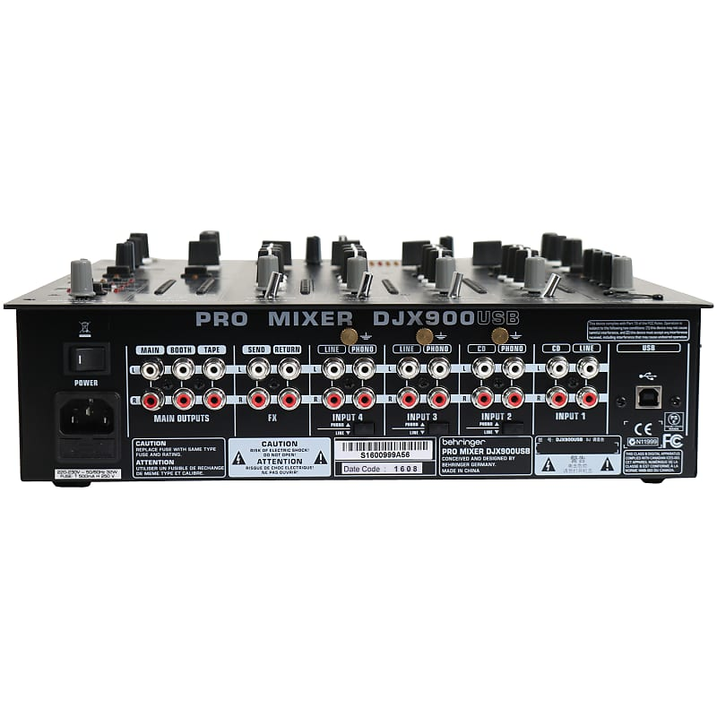 Behringer Djx900 Usb Table De Mixage Dj Bax Music Reverb