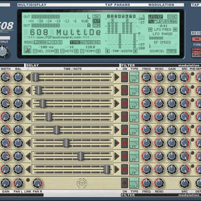 PSP Audioware 608 Multi-Delay