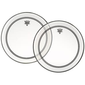 """Remo Powerstroke P3 Clear Drum Head 18"""""""