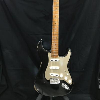 Fender Custom Shop Stratocaster Limited Edition Roasted Fretboard Relic 2017 Aged Black