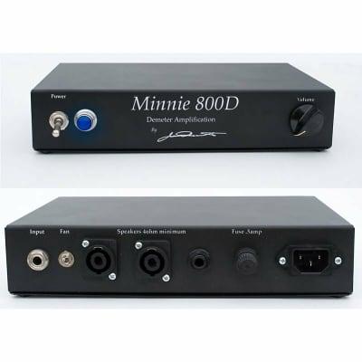 Demeter Minnie 800D Bass Power Amplifier for sale
