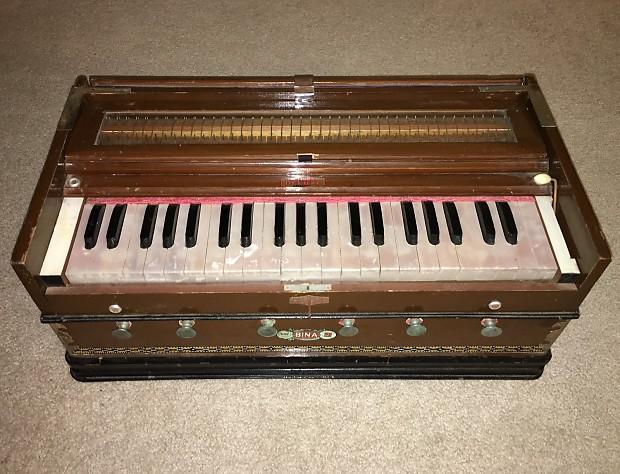 Vintage Bina Deluxe Harmonium Model 9 | A Generation's Relic