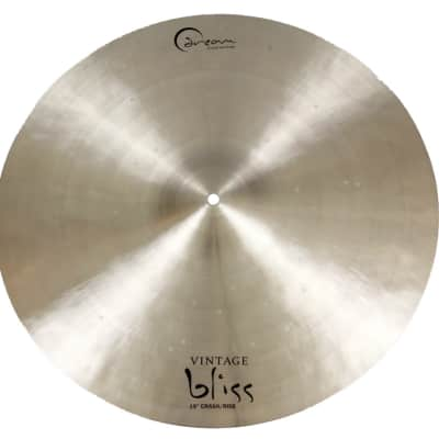 """Dream Cymbals 19""""  Vintage Bliss Series Crash/Ride Cymbal"""