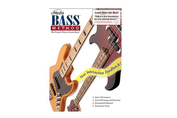 eMedia Bass Method Mac | Recording Software Shop