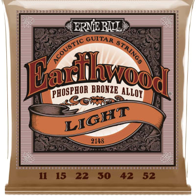Ernie Ball 2148 Earthwound Super Slinky Acoustic Guitar Strings