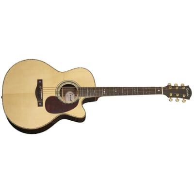 Farida R62CE Cutaway Natural Finish Acoustic Guitar