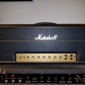 RARE! Marshall 100JH Jimi Hendrix head, vintage GEC tubes, Jim Marshall signed certificate for sale