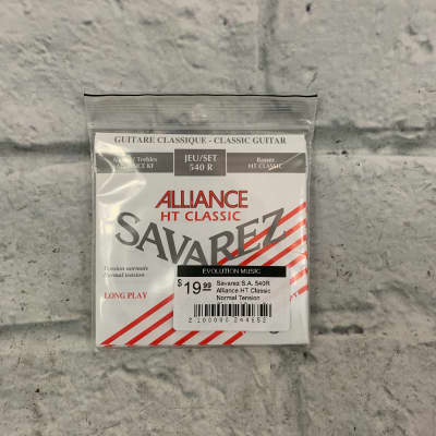Savarez S.A. 540R Alliance HT Classic Normal Tension Classical Guitar Strings