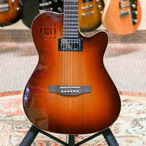 Godin A6 Ultra Semi-Acoustic/Electric Guitar Cognac Burst