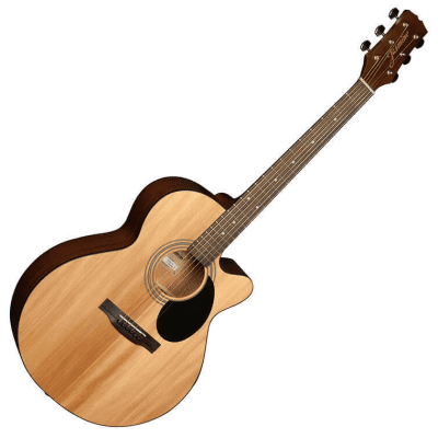 Jasmine Grand Orchestra Acoustic Guitar - Natural - S34C for sale