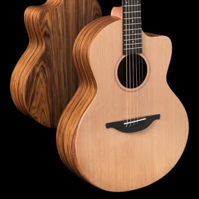Sheeran S-03 Cedar & Rosewood Cutaway with Bevel & Pickup NEW for sale