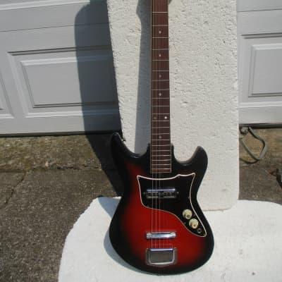 Hy-Lo Guitar, 1960's, Japan,  1 Gold Foil Pu. Plays & Sounds Good for sale