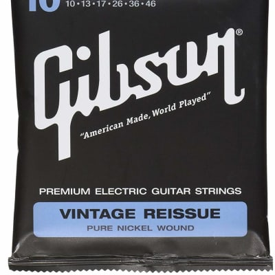 Gibson Vintage Reissue Electric Guitar Strings - Light for sale