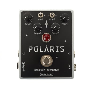 Used Spaceman Effects Polaris Resonant Filter Overdrive Pedal - Silver