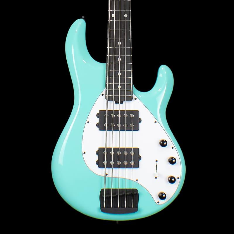 Ernie Ball Music Man StingRay Special 5HH Bass Guitar Cruz Teal with Ebony  Fingerboard 2019 (9118)