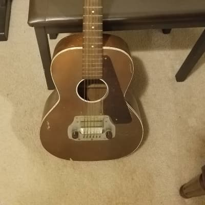 Parlor with Electromuse pickup for sale