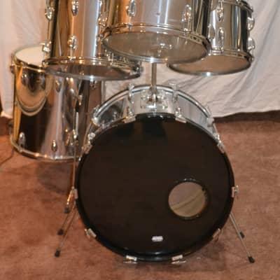 Slingerland Vintage 70's  Avante 5 Piece Drum Set Chrome