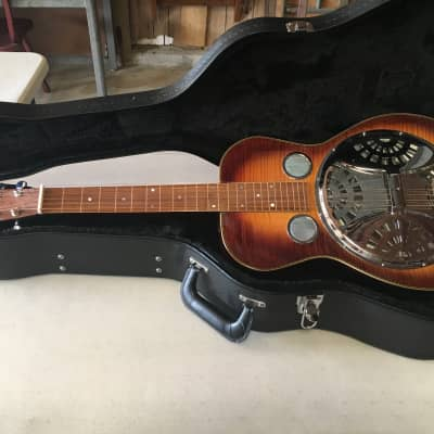 Robert Lawerence Deluxe Dobro w/ Hard Shell Case USA Handmade for sale