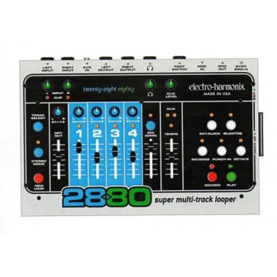 Electro-Harmonix 2880 Super multi-track looper + Foot controller