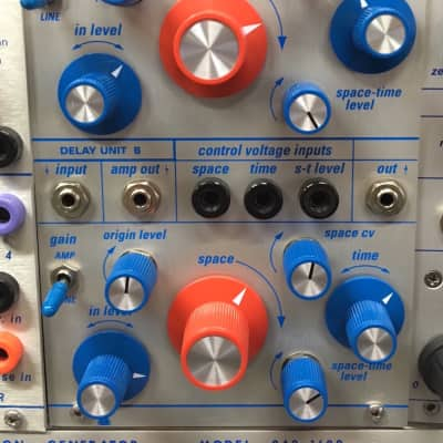 Buchla Format Vedic Scapes Spacetime processor