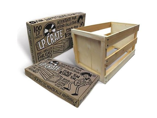 Crate Farm   KTPF1223   100 X Vinyl Record Storage Crate   Unassambled